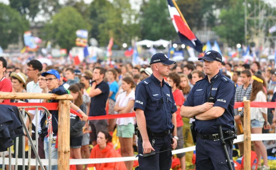 Policja podczas ŚDM