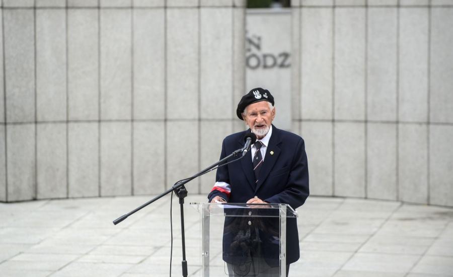 Prezes Zarządu Głównego Światowego Związku Żołnierzy Armii Krajowej Leszek Żukowski