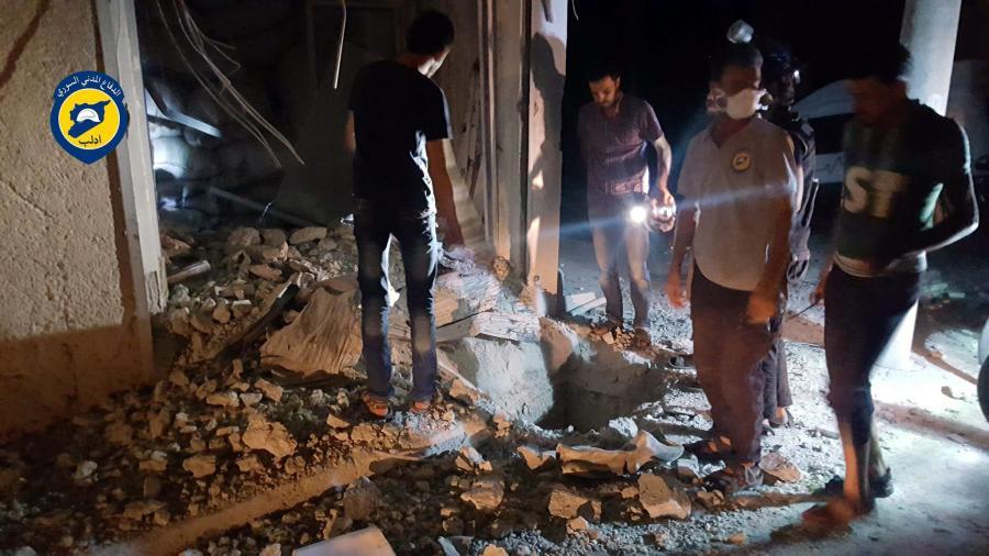 Atak gazem w Syrii