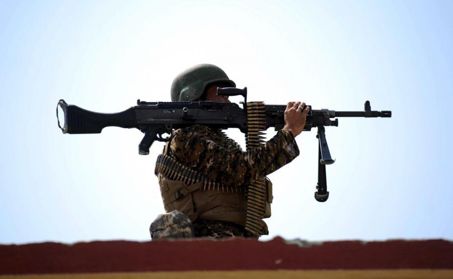 Afganistan. Żołnierz w prowincji Nangarhar