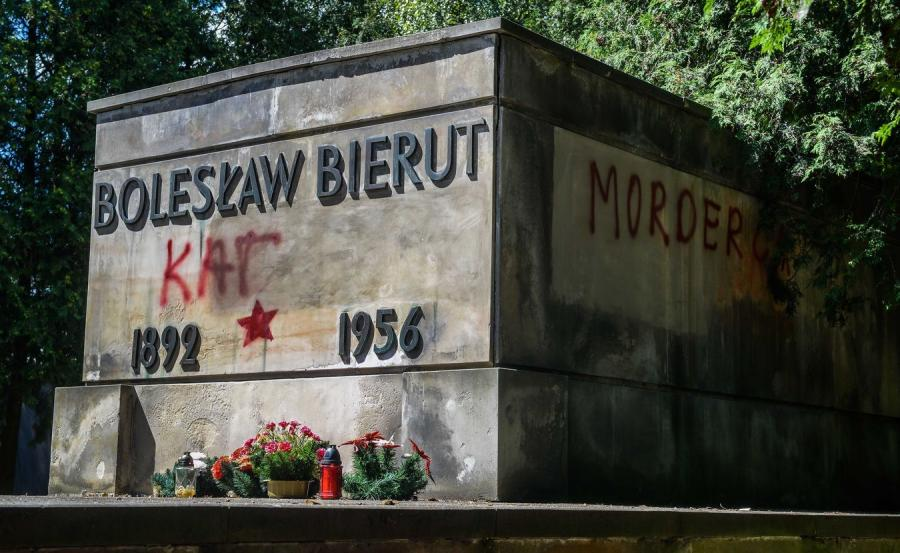 Nagrobek Bolesława Bieruta