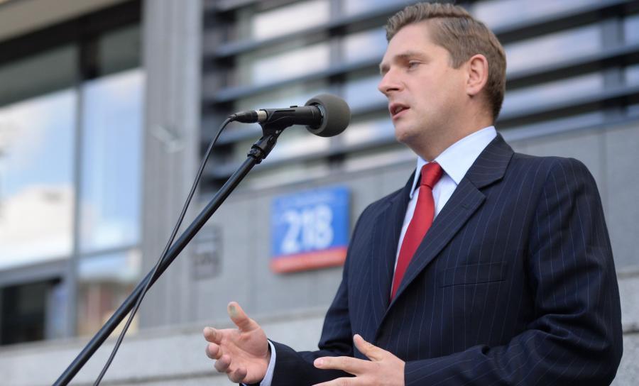Wiceminister Obrony Narodowej Bartosz Kownacki