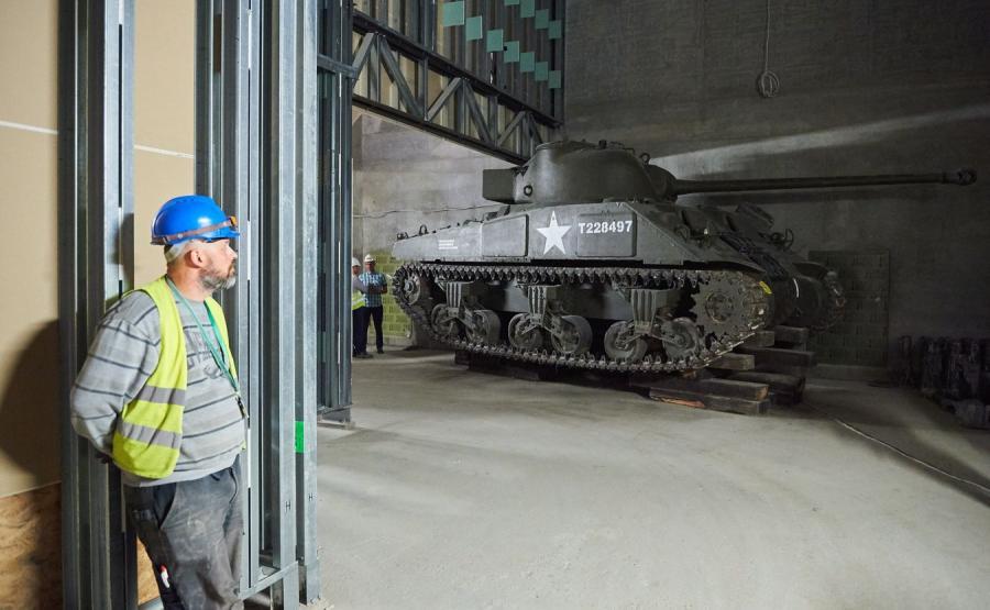 Brytyjski czołg M4 Sherman \