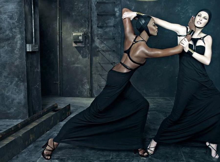 Naomi Campbell i Linda Evangelista pobiły się przed obiektywem