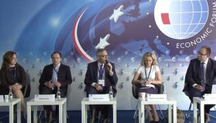 Panel o rynku pracy i przedsiębiorczości w czasie Forum Ekonomicznego w Krynicy
