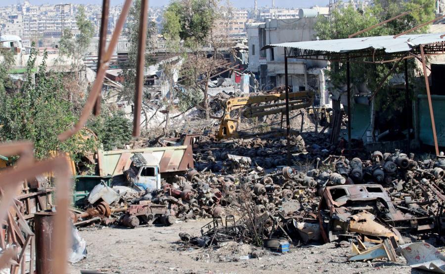 Walki o Aleppo