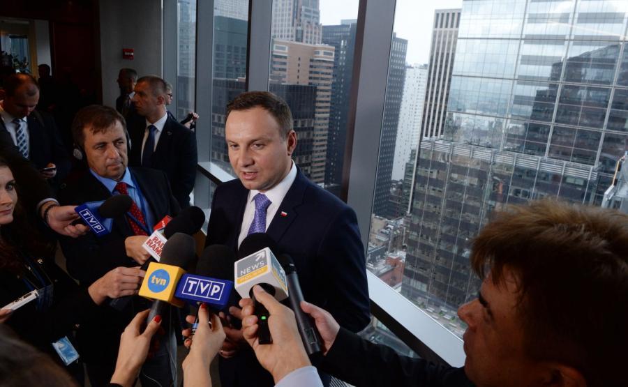 Andrzej Duda z wizytą w Stanach Zjednoczonych