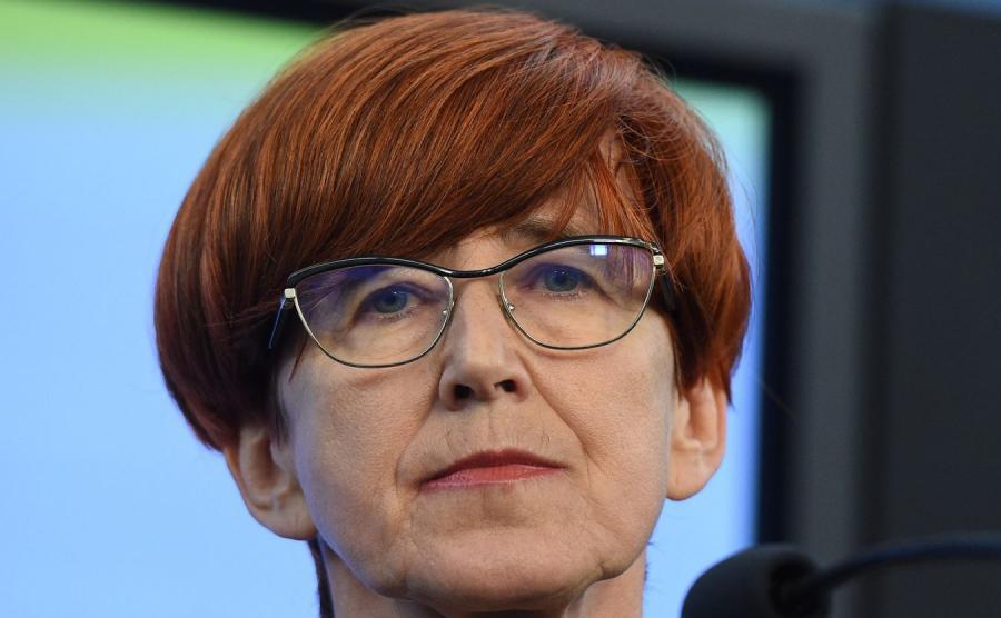 Elżbieta Rafalska - minister rodziny, pracy i polityki społecznej