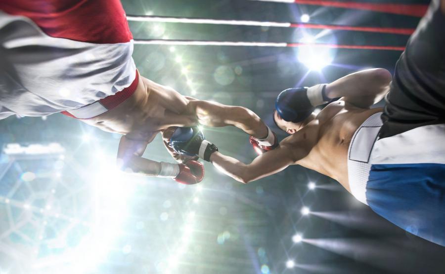 Pięściarze na ringu