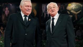 Lech Wałęsa i Andrzej Wajda