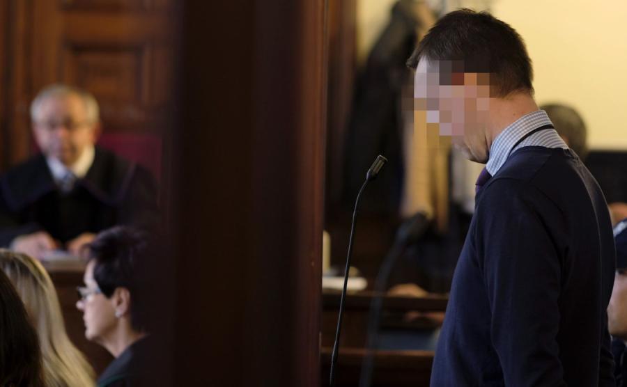 Były policjant Marek G. przed sądem