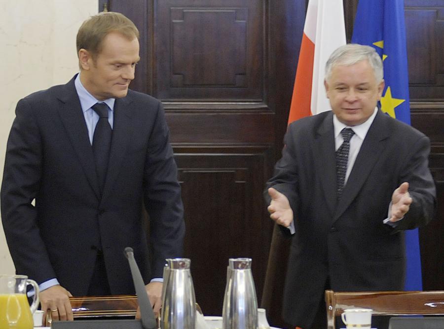 Kaczyński i Tusk pokłócą się o pieniądze