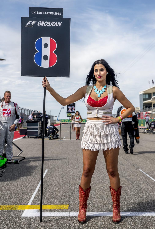 Formuła 1 to nie tylko szybcy kierowcy. Zobacz piękne dziewczyny na torze w Austin