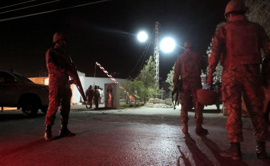 Zamach na szkołę policyjną w Pakistanie