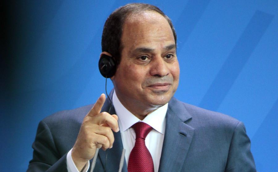 Prezydent Egiptu Abd el-Fatah es-Sisi