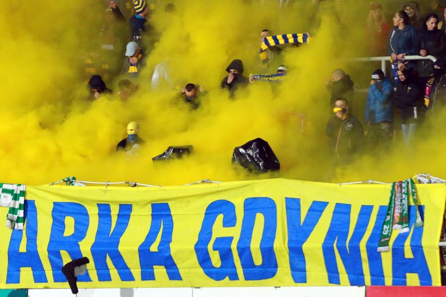 Kibice Arki Gdynia