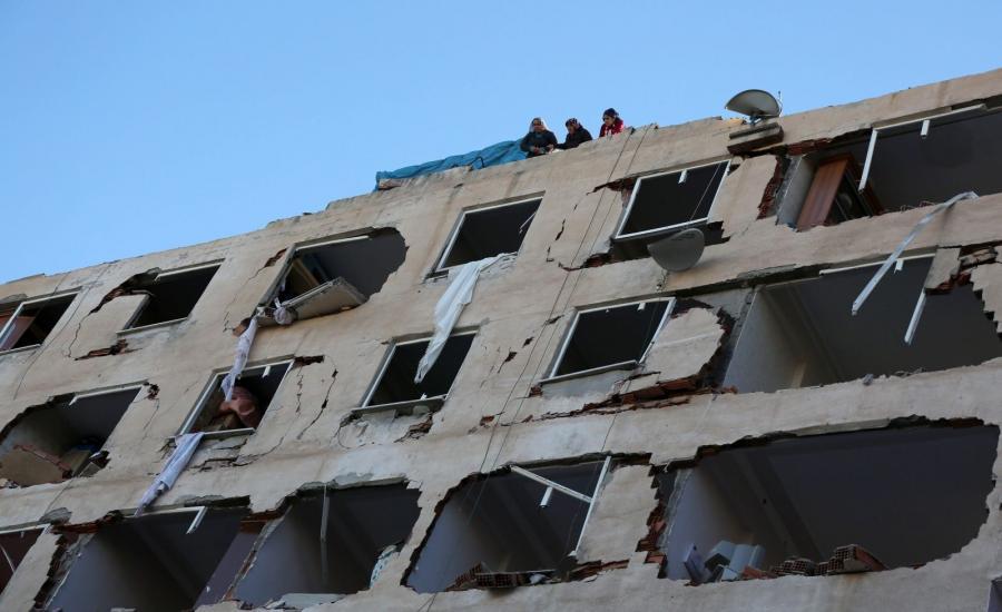 Miejsce eksplozji w Diyarbakiru