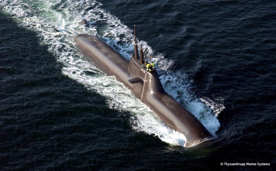 Niemiecki okręt podwodny A212
