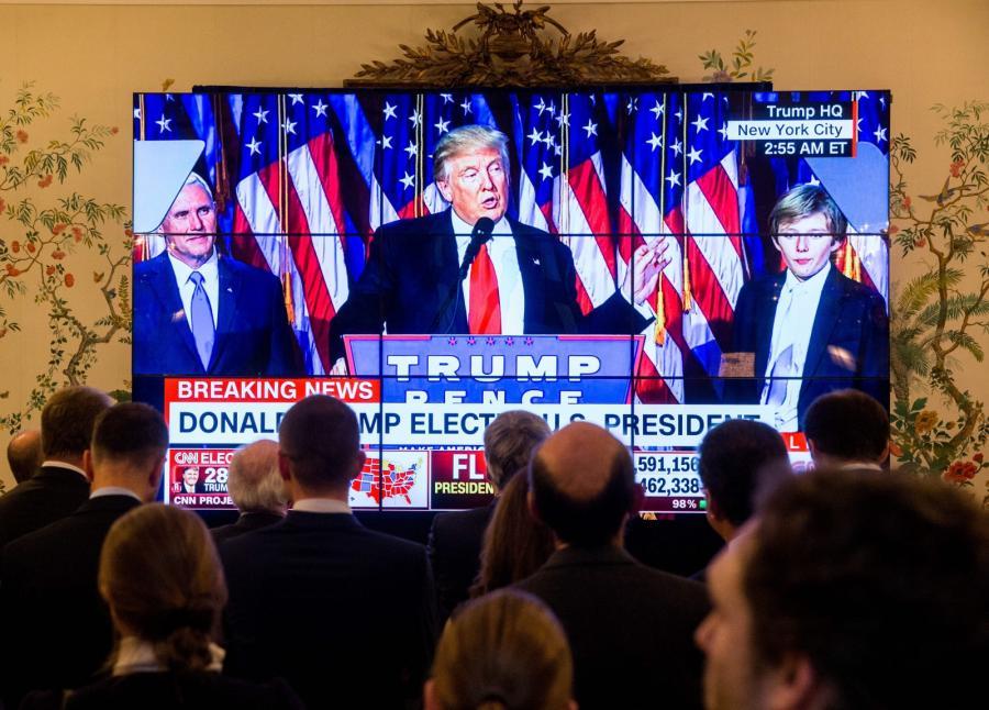 Donald Trump zwycięża w wyborach prezydenckich w USA