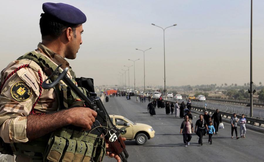 Iracki żołnierz