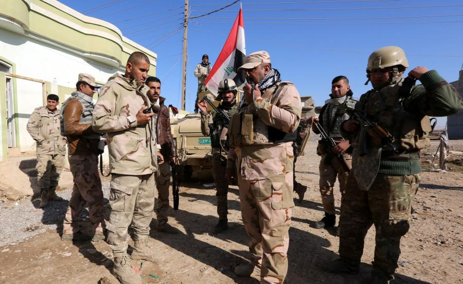Wojska irackie pod Mosulem
