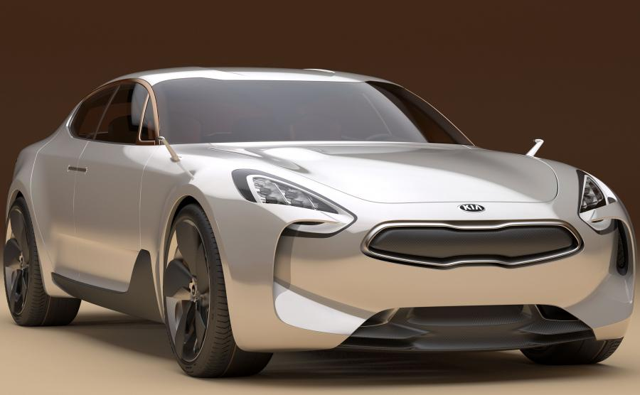 Kia GT - prototyp z 2011 roku