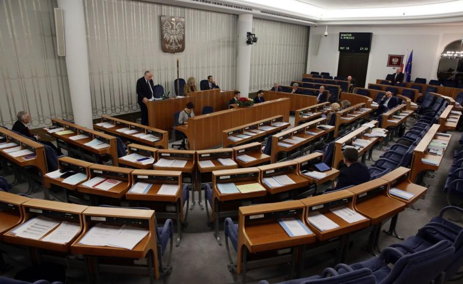 Dyskusja nad przepisami wprowadzającymi ustawę o Trybunale Konstytucyjnym