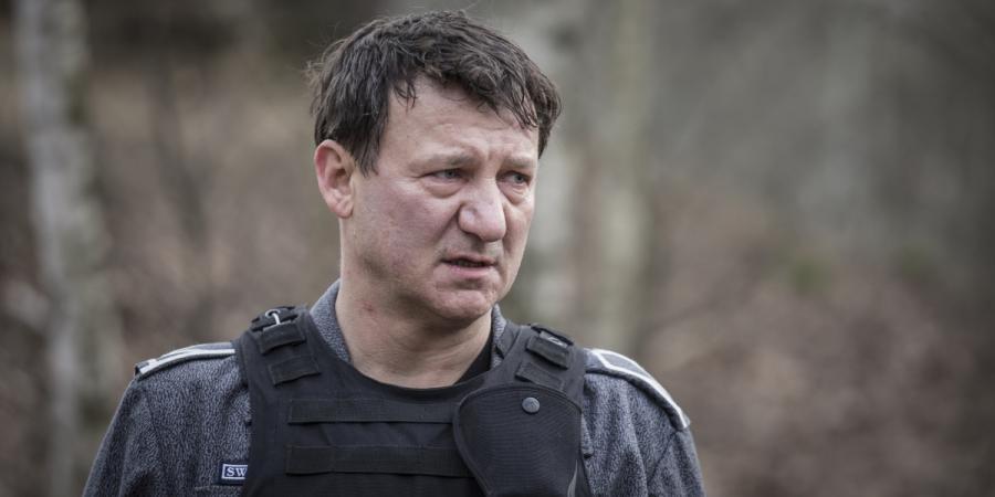 """Robert Więckiewicz w filmie """"Konwój"""". Premiera 13 stycznia 2017 roku."""