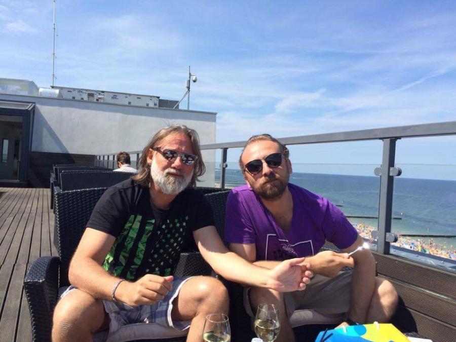 Andrzej Saramonowicz i Wojciech Mecwaldowski