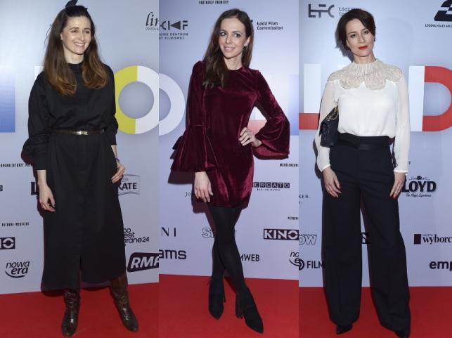 Agnieszka Grochowska, Anna Wendzikowska i Maja Ostaszewska