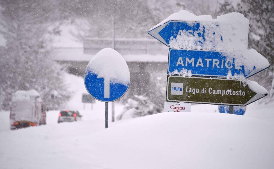 Zima we Włoszech