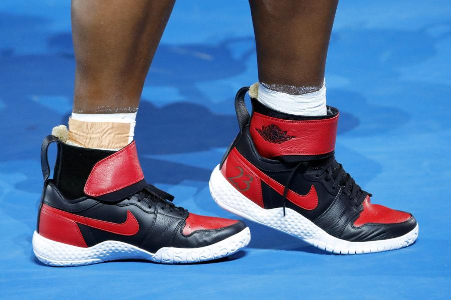 Te buty Serenie Williams przesłał Michael Jordan