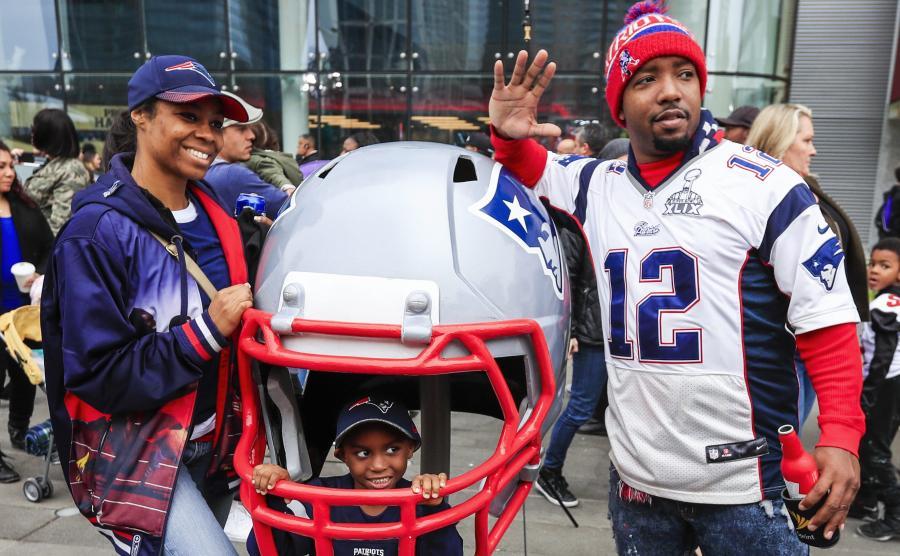 Kibice w USA czekają na Super Bowl