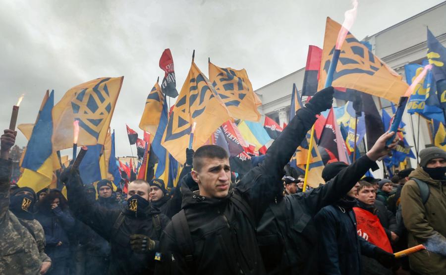 Nacjonaliści w Kijowie