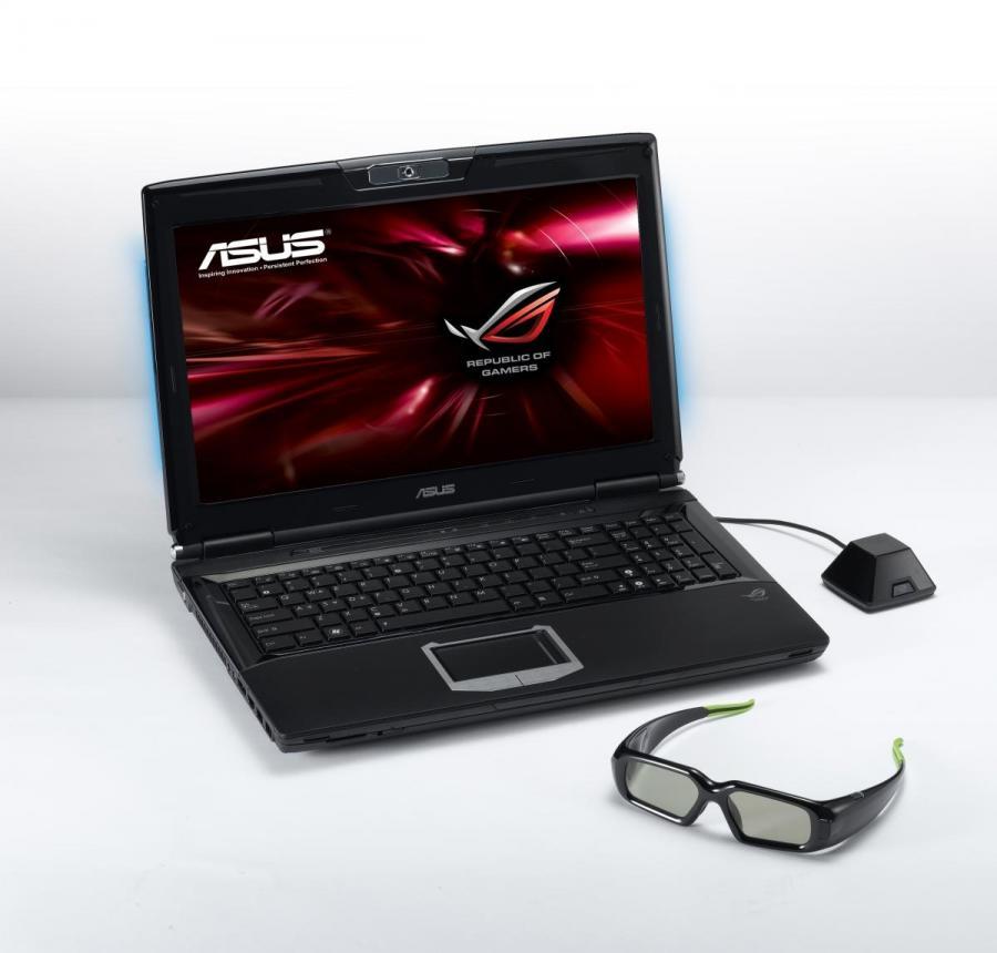 Trójwymiarowy laptop od Asusa