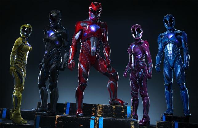 """""""Power Rangers"""" w kinach od 24 marca 2017 roku"""